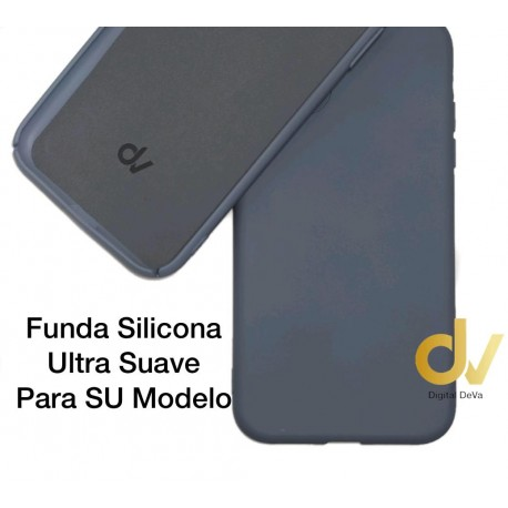 iPhone X / XS Funda Ultra Suave Azul Denim