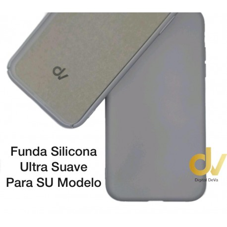 iPhone X / XS Funda Ultra Suave Gris