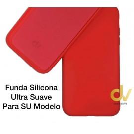 iPhone XS Max Funda Ultra Suave Rojo