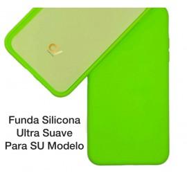 iPhone XS Max Funda Ultra Suave Verde Neon