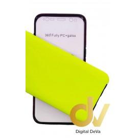 A20E SAMSUNG Funda Pc 360 Doble Cara Verde Neon