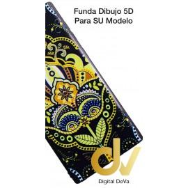 A50 SAMSUNG Funda Dibujo 5D Mandala