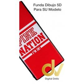 A50 SAMSUNG Funda Dibujo 5D Pink Nation
