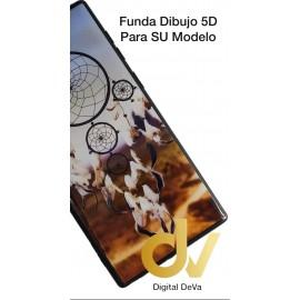 A50 SAMSUNG Funda Dibujo 5D Atrapa Sueños Plumas