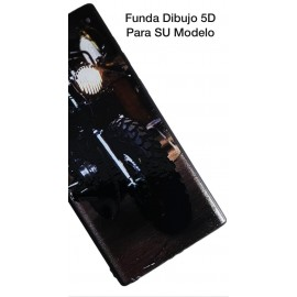 A50 SAMSUNG Funda Dibujo 5D Motocicleta