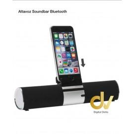 Altavoz Soundbar Bluetooth Negro
