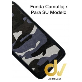 iPhone 6 Funda Camuflaje Tejido Gris