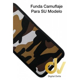 iPhone 7 Plus / 8 Plus Funda Camuflaje Tejido Marrón