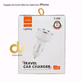 Cargador Coche CS03 iPhone