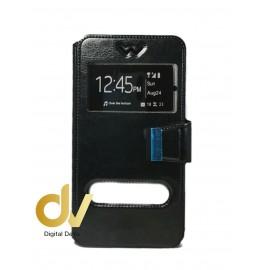 S9 Plus Samsung Funda Libro 2 Ventanas NEGRO