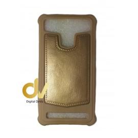Universal 5.5 Funda P-Piel Dorado