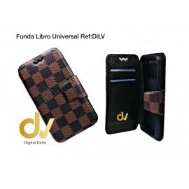 Universal 5.0 Funda Libro Ref: DiLV Marrón