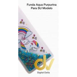 Mi A2 Lite / Redmi 6 Pro XIAOMI Funda Agua Purpurina UNICORNIO ARCOIRIS