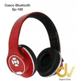 Cascos Bluetooth Sp-180 Rojo