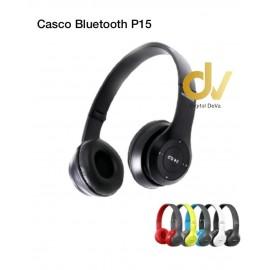 Cascos Bluetooth P15 Negro