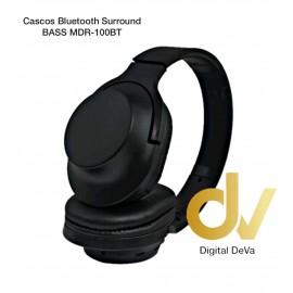 Cascos Bluetooth Surround BASS MDR-100BT Negro