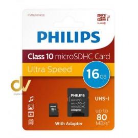 Memoria SD 16GB Philips