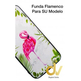 iPhone 12 6.1 FUNDA Dibujo 5D Flamenco