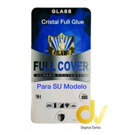 A30 Samsung Negro Cristal Pantalla Completa Full Glue