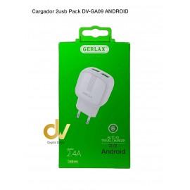 Cargador GERLAX 2usb Pack GA-09  Android