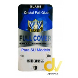 iPhone XS Max Negro Cristal Pantalla Completa FULL GLUE