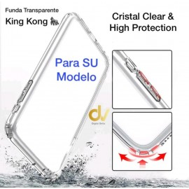 iPhone 12 6.1 Funda Transparente King Kong