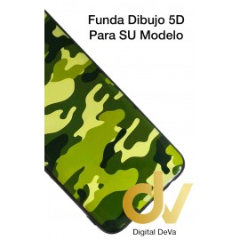 P40 Lite 5G HUAWEI Funda Dibujo Militar