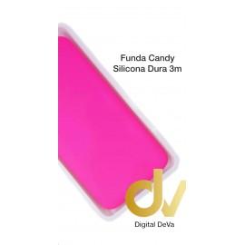 A21S SAMSUNG Funda Silicona Candy Dura 3mm Rosa Neón