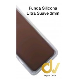 A21S SAMSUNG Funda Silicona Candy Dura 3mm Marrón