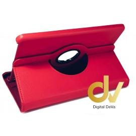 iPAD Mini 1/2/3 Rojo FUNDA Tab Giratoria 360º