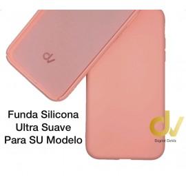 """iPhone 12 Mini (5.4"""") Funda Ultra Suave Rosa Suave"""