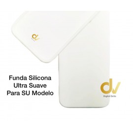 "iPhone 12 Mini (5.4"") Funda Ultra Suave Blanco"