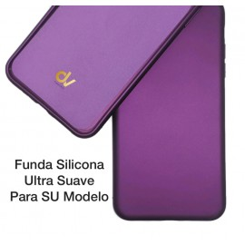 iPhone 12 Pro Max 6.7 Funda Ultra Suave Lila