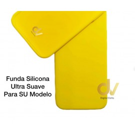 iPhone 12 Pro Max 6.7 Funda Ultra Suave Amarillo