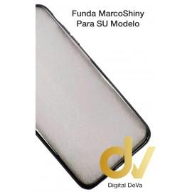 S6 Edge Samsung Funda Marco Shiny GRIS