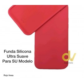 "iPhone 12 Mini (5.4"") Funda Ultra Suave Rojo Fresa"