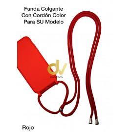 iPhone 11 Pro Funda Colgante Con Cordón De Color Rojo