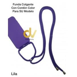 iPhone 11 Pro Funda Colgante Con Cordón De Color Lila
