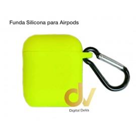 Funda Para AirPods Verde Neon