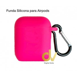 Funda Para AirPods Rosa Neon