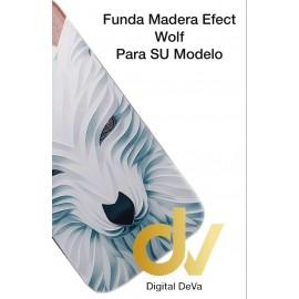 P30 Lite Huawei Funda Madera Efect LOBO