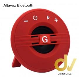 Altavoz Bluetooth G-18 Rojo