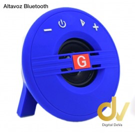 Altavoz Bluetooth G-18 Azul