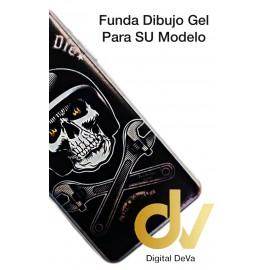J4 2018 Samsung Funda Dibujo 5D CALAVERA