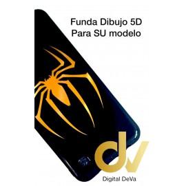 A10 Samsung Funda Dibujo 5D SPIDER BLACK
