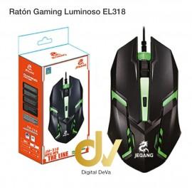 Raton Gaming Luminoso EL318