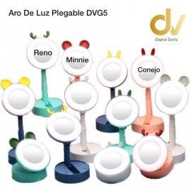 Aro De Luz Plegable DVG5 Conejo Rosa