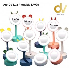 Aro De Luz Plegable DVG5 Minnie Rosa