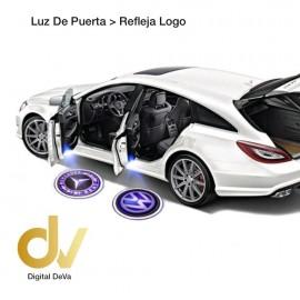 Luz De Puerta - Refleja Logo Mercedes Benz