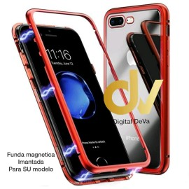 S10 Lite Samsung Funda Magnetica Imantada ROJO